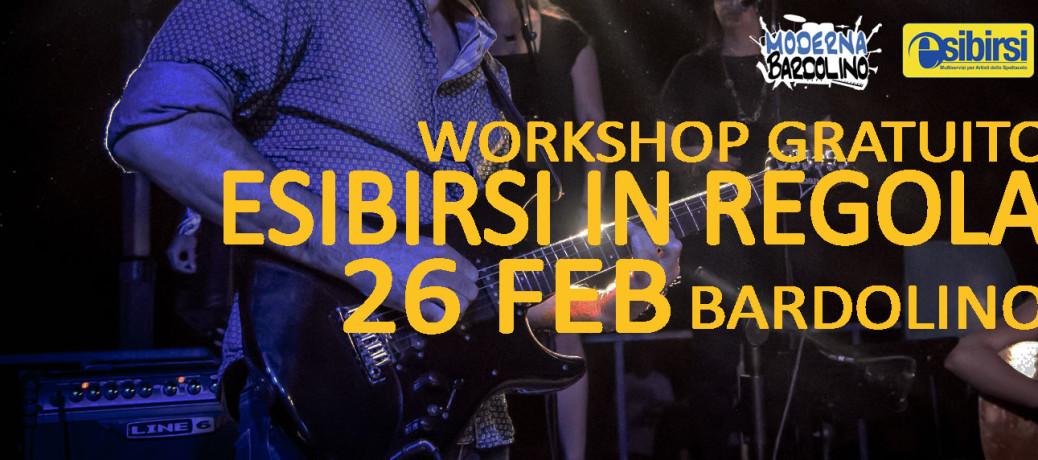 26 Feb: Workshop Gratuito: ESIBIRSI IN REGOLA