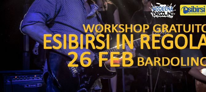 26 Feb: Workshop Gratuito: ESIBIRSI IN REGOLA